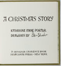 Books:Fine Press & Book Arts, [Ben Shahn, illustrator]. SIGNED LIMITED EDITION. Katherine AnnePorter. A Christmas Story. Delacorte, [1967]. One...