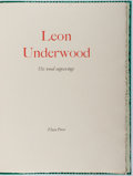 Books:Fine Press & Book Arts, Leon Underwood. Leon Underwood His Wood Engravings. FleecePress, [1986]. One of 200 copies. Folio. In slipcase. Fin...