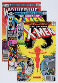 Modern Age (1980-Present):Superhero, X-Men Group (Marvel, 1979-85) Condition: Average VF+.... (Total: 12Comic Books)