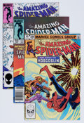 Modern Age (1980-Present):Superhero, The Amazing Spider-Man Group (Marvel, 1981-88) Condition: AverageNM-.... (Total: 35 Comic Books)