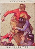 Football Collectibles:Others, 1926 Rose Bowl Program - The Game That Changed the South....