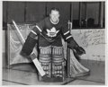 "Hockey Collectibles:Photos, 1940's Turk Broda Signed Original ""Turofsky"" Photograph...."
