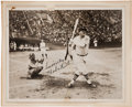 Autographs:Photos, 1934 Babe Ruth Signed Photograph....