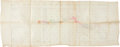 Western Expansion:Cowboy, Lincoln County Wars: Feliz Cattle Company Map and Abstract ofTitle....
