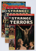 Golden Age (1938-1955):Horror, Strange Terrors Group (St. John, 1952-53).... (Total: 3 Items)
