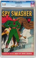 Golden Age (1938-1955):Superhero, Spy Smasher #4 (Fawcett Publications, 1942) CGC VG/FN 5.0 Off-white pages....