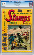 Golden Age (1938-1955):Non-Fiction, Stamps Comics #1 (Youthful Magazines, 1951) CGC FN+ 6.5 Cream tooff-white pages....