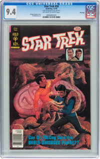 Star Trek #58 File Copy (Gold Key, 1978) CGC NM 9.4 Off-white to white pages