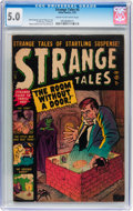 Golden Age (1938-1955):Horror, Strange Tales #5 (Atlas, 1952) CGC VG/FN 5.0 Cream to off-whitepages....