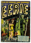 Golden Age (1938-1955):Horror, Eerie #2 (Avon, 1951) Condition: FN. Wally Wood contributes acreepy bondage cover and also supplies interior art on this Av...