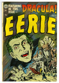 Golden Age (1938-1955):Horror, Eerie #12 (Avon, 1953) Condition: VF+. This issue contains aDracula cover and a 25-page story adapted from the novel. Overs...