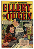 Golden Age (1938-1955):Crime, Ellery Queen #4 Mile High pedigree (Superior, 1949) Condition: VF+. This art for this title was produced at the Iger Shop st...