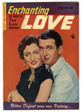 Golden Age (1938-1955):Romance, Enchanting Love #3 (Kirby Publishing, 1950) Condition: FN/VF. JimmyStewart photo cover. Overstreet 2006 FN 6.0 value = $27;...