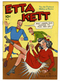 Golden Age (1938-1955):Humor, Etta Kett #12 Mile High pedigree (King Features/Standard, 1949) Condition: NM-. Paul Robinson cover. Overstreet 2006 NM- 9.2...