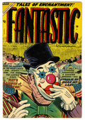 Golden Age (1938-1955):Horror, Fantastic Comics #10 (Ajax / Farrell, 1954) Condition: VF-....
