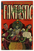 Golden Age (1938-1955):Horror, Fantastic Fears #3 (Farrell, 1953) Condition: VG/FN. Overstreet2006 VG 4.0 value = $56; FN 6.0 value = $84. From theJohn...