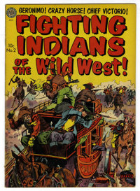 Fighting Indians of the Old West #2 (Avon, 1952) Condition: FN-. Raymond Kinstler cover art. Overstreet 2006 FN 6.0 valu...