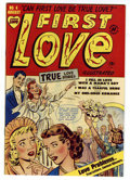 Golden Age (1938-1955):Romance, First Love Illustrated #4 Mile High pedigree (Harvey, 1949)Condition: NM-. Bob Powell art. Overstreet 2006 NM- 9.2 value = ...