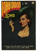 """Golden Age (1938-1955):Romance, Forbidden Love #2 (Quality, 1950) Condition: FN/VF. Classic photo cover. Overstreet lists as """"scarce,"""" and Gerber rates it a..."""