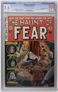 "Golden Age (1938-1955):Horror, Haunt of Fear #15 Davis Crippen (""D"" Copy) pedigree (EC, 1952) CGCVF- 7.5 Cream to off-white pages. Graham Ingels cover. In..."