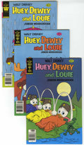 Bronze Age (1970-1979):Cartoon Character, Huey, Dewey, and Louie Junior Woodchucks File Copy Group (GoldKey/Whitman, 1979-84) Condition: Average NM-. Issues include ...(Total: 11 Comic Books)