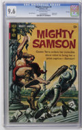 Silver Age (1956-1969):Adventure, Mighty Samson #9 File Copy (Gold Key, 1967) CGC NM+ 9.6 Off-white pages. Painted robot cover. Jack Sparling art. Overstreet ...