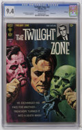 Silver Age (1956-1969):Horror, Twilight Zone #22 File Copy (Gold Key, 1967) CGC NM 9.4 Off-whitepages. Painted cover. Al McWilliams and Joe Orlando art. O...
