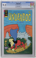 Bronze Age (1970-1979):Cartoon Character, Underdog #2 File Copy (Gold Key, 1975) CGC NM- 9.2 Off-white towhite pages. Overstreet 2006 NM- 9.2 value = $45. CGC census...
