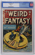 Golden Age (1938-1955):Science Fiction, Weird Fantasy #18 Gaines File Copy pedigree 8/11 (EC, 1953) CGC NM+9.6 White pages. Al Williamson teamed up with several ot...