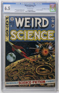 "Golden Age (1938-1955):Science Fiction, Weird Science #11 Davis Crippen (""D"" Copy) pedigree (EC, 1952) CGCFN+ 6.5 Off-white pages. Jack Kamen biography. Al Feldste..."