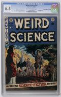 "Golden Age (1938-1955):Science Fiction, Weird Science #14 Davis Crippen (""D"" Copy) pedigree (EC, 1952) CGCFN+ 6.5 Cream to off-white pages. Wally Wood cover. Wood,..."