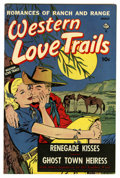 "Golden Age (1938-1955):Romance, Western Love Trails #9 Davis Crippen (""D"" Copy) pedigree (Ace,1950) Condition: VF. Overstreet 2006 VF 8.0 value = $54.Fr..."