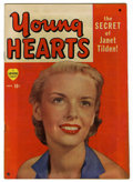 """Golden Age (1938-1955):Romance, Young Hearts #1 Davis Crippen (""""D"""" Copy) pedigree (Marvel, 1949) Condition: FN+. Photo cover. Overstreet 2006 FN 6.0 value =..."""