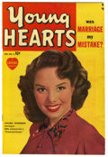 "Golden Age (1938-1955):Romance, Young Hearts #2 Davis Crippen (""D"" Copy) pedigree (Marvel, 1950)Condition: FN. Colleen Townsend photo cover from the movie...."