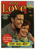 """Golden Age (1938-1955):Romance, Young Love #8 Davis Crippen (""""D"""" Copy) pedigree (Prize, 1948)Condition: VF. Overstreet 2006 VF 8.0 value = $64. From the..."""