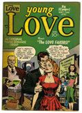 "Golden Age (1938-1955):Romance, Young Love #12 Davis Crippen (""D"" Copy) pedigree (Prize, 1950) Condition: FN. Joe Simon and Jack Kirby cover. Overstreet 200..."