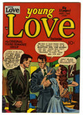 "Golden Age (1938-1955):Romance, Young Love #13 Davis Crippen (""D"" Copy) pedigree (Prize, 1950)Condition: VF/NM. Joe Simon and Jack Kirby cover. Overstreet ..."