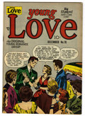 "Golden Age (1938-1955):Romance, Young Love #16 Davis Crippen (""D"" Copy) pedigree (Prize, 1950) Condition: VF-. Joe Simon and Jack Kirby cover art. Overstree..."