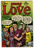 "Golden Age (1938-1955):Romance, Young Love #19 Davis Crippen (""D"" Copy) pedigree (Prize, 1951)Condition: VG. Joe Simon and Jack Kirby cover and art. Overst..."