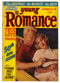 "Golden Age (1938-1955):Romance, Young Romance Comics #50 Davis Crippen (""D"" Copy) pedigree (Prize, 1952) Condition: VF-. Overstreet 2006 VF 8.0 value = $47...."