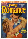 "Golden Age (1938-1955):Romance, Young Romance Comics #51 Davis Crippen (""D"" Copy) pedigree (Prize,1952) Condition: VF-. Overstreet 2006 VF 8.0 value = $47...."