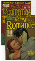 "Golden Age (1938-1955):Romance, Young Romance Comics #61 and 62 Davis Crippen (""D"" Copy) pedigreeGroup (Prize, 1953). Includes #61 (FN) and #62 (VG-). Both...(Total: 2 Comic Books)"