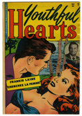 """Golden Age (1938-1955):Romance, Youthful Hearts #1 Davis Crippen (""""D"""" Copy) pedigree (YouthfulMagazines, 1952) Condition: FN/VF. Frankie Laine partial phot..."""