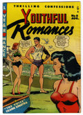 """Golden Age (1938-1955):Romance, Youthful Romances #8 Davis Crippen (""""D"""" Copy) pedigree (Pix Parade,1951) Condition: VF-. Wally Wood cover and art. Frank Si..."""