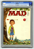 Magazines:Mad, Mad #77 (EC, 1963) CGC NM- 9.2 Off-white to white pages. NormanMingo cover. JFK and Fidel Castro photos. Comic strip spoofs...