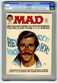 """Magazines:Mad, Mad #187 (EC, 1976) CGC NM+ 9.6 Off-white pages. """"Happy Days"""" and""""All The President's Men"""" parodies. Jack Rickard cover fea..."""
