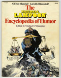"Magazines:Humor, ""National Lampoon Encyclopedia of Humor"" and ""Iron-On"" Group Lot(NL Communications, 1973-76). This lot contains two highly ...(Total: 2 Items)"