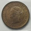 Canada: Victoria Cent 1888, KM1, MS64 ICCS, not noted as Red but with considerable mint luster and just a few tiny spots...
