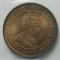 Canada: Edward VII Cent 1902, KM8, MS64 RED ICCS, fully original with a band of toning along the right obverse edge. Fro...