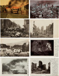 Non-Sport Cards:Lots, Circa 1906 Misc. Publishers San Francisco Earthquake Post CardCollection (32). ...